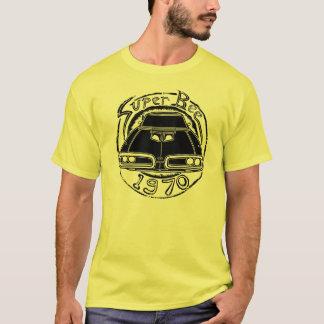 T-shirt super do gráfico da abelha de 1970 Dodge