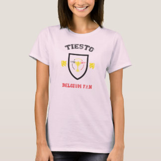 T-Shirt Tiësto Belgium Fan 2014 Femme Camiseta