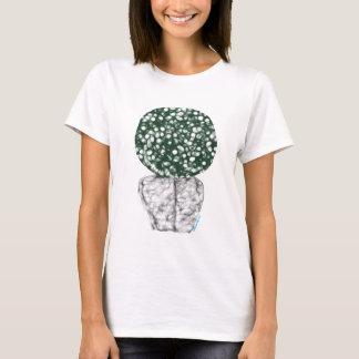 T-shirt traseiro do desenhista do Afro Camiseta