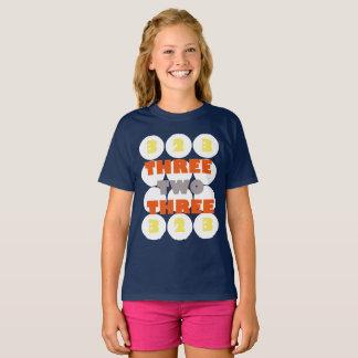 T-shirt três dois três Funky Camiseta