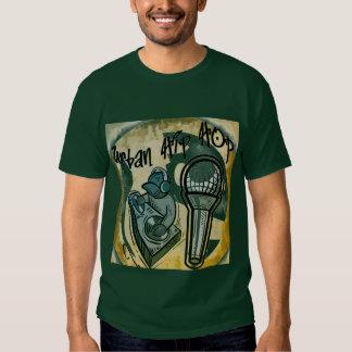 T-shirt URBANO de HIP HOP, escuro
