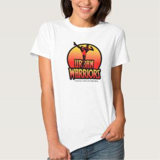 T-shirt urbano do branco do clube de malhação dos