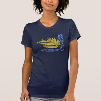 T-shirt urbano legal da arte gráfica da Nova