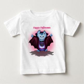 T-shirt VAMPY do jérsei da multa do bebê do DIA Camiseta Para Bebê