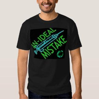 t-shirt verde da seringa