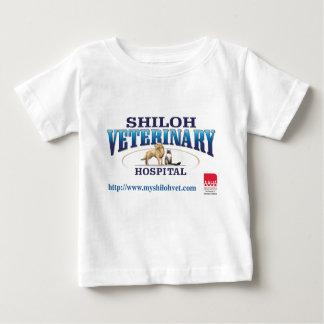 T-shirt veterinário do bebê de Shiloh