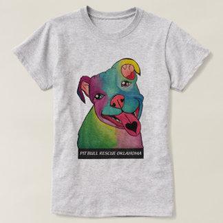 T-shirt voluntário do PBR das mulheres