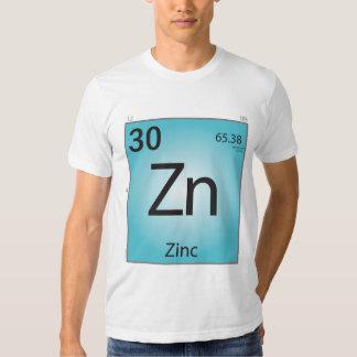 T-shirt (Zn) do elemento do zinco - parte
