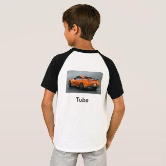 t-strits do tubo do vaqueiro camiseta