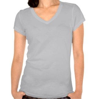 T supremo do V-pescoço do amor-próprio das Tshirts