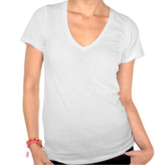 T supremo do V-pescoço do amor-próprio das Tshirt