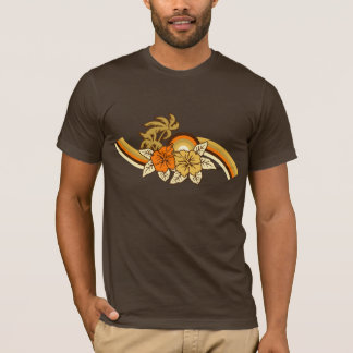 T surfando dos homens do safari camiseta