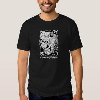 T surpreendente do dragão das origens camiseta