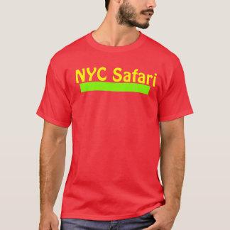 T vermelho do safari de NYC Camiseta