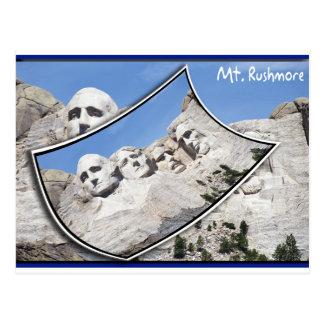 TA Rushmore - cartão cénico ondulado