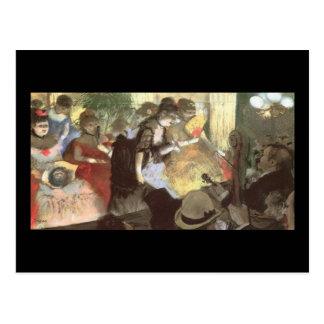 Taberna de Edgar Degas Cartoes Postais