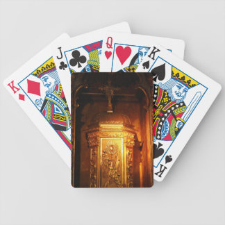 Tabernáculo católico baralho de cartas