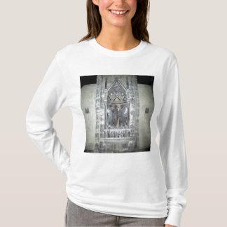 Tabernáculo com quatro santos coroados camiseta