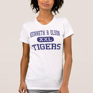Tabernáculo do meio dos tigres de Kenneth R Olson Camiseta