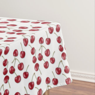 Tablecloth da cozinha do teste padrão da cereja do toalha de mesa