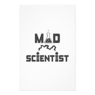 Taça elétrica da ciência do cientista louco papelaria