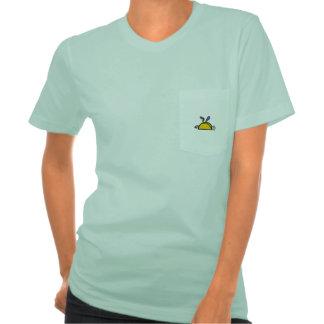 Taco de cabeça para baixo t-shirt