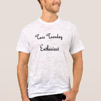 Taco homens do terça-feira 4 camiseta