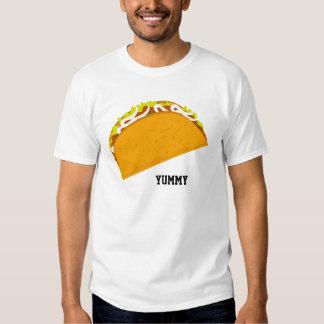 Taco saboroso t-shirt