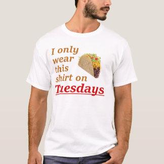 Taco terça-feira camiseta