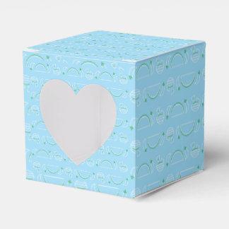 Tacos & caixa de presente de Guac - azul