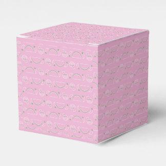 Tacos & caixa de presente de Guac - rosa