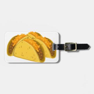 Tacos do Gringo Etiqueta De Mala