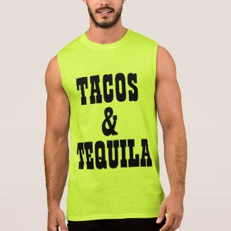 Tacos e Tequila Camisa Sem Manga