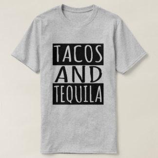 Tacos e Tequila Camiseta
