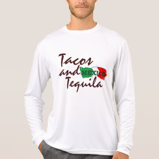 Tacos e Tequila Camisetas