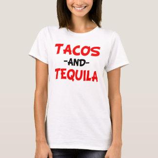 Tacos e Tequila engraçados Camiseta