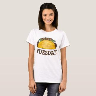 Tacos Foodie da comida de Tex Mex do mexicano de Camiseta