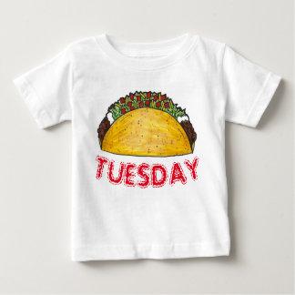 Tacos Foodie da comida de Tex Mex do mexicano de Camiseta Para Bebê