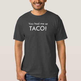 tacos para a vitória t-shirt