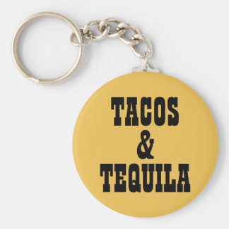 Tacos & Tequila Chaveiro
