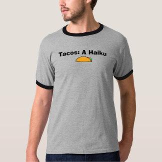 Tacos: Um haicai Camisetas