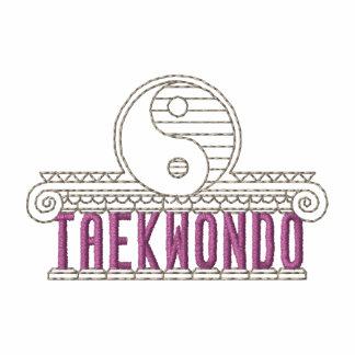 Taekwondo Camiseta Bordada Polo