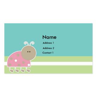 Tag A2 do presente das crianças Cartão De Visita
