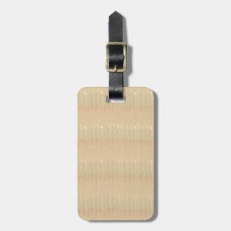 Tag da bagagem com correia de couro etiqueta de bagagem