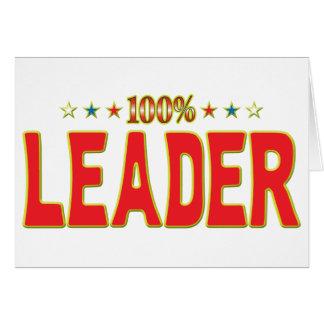 Tag da estrela do líder