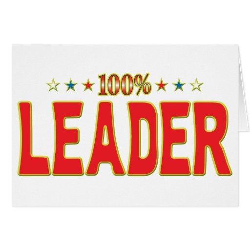 Tag da estrela do líder cartoes