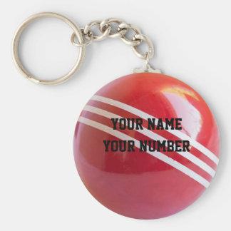 Tag da identificação do chaveiro da bola de