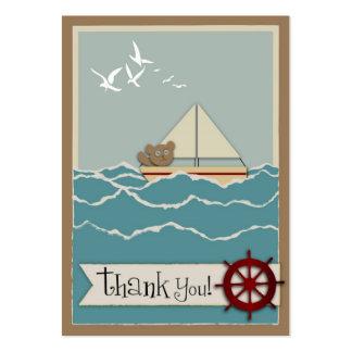 Tag do presente da navigação TY Cartão De Visita Grande