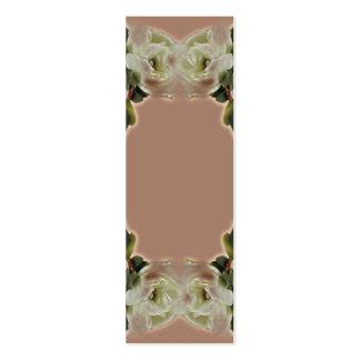 Tag do presente do chá de panela ou de casamento modelos cartão de visita