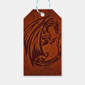 Tag do presente do dragão